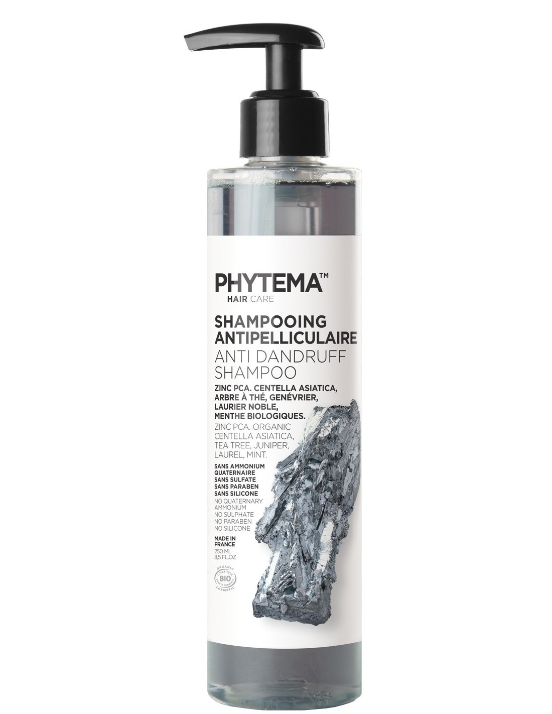 Natural and Organic dandruff shampoo, Phytema Haircare