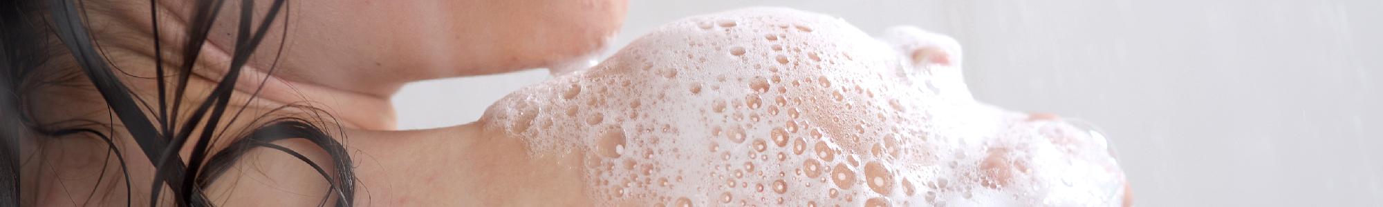 Huile de douche naturelle et biologique - huile lavante naturelle